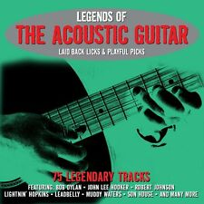 Legends Of The Acoustic Guitar VARIOUS ARTISTS Best Of 75 Songs NEW SEALED 3 CD