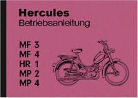 Hercules MF 3 4 HR 1 MP 2 4 Duo Bedienungsanleitung Betriebsanleitung Handbuch