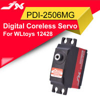JX PDI-2506MG 6.6KG Metal Gear Digital Coreless Servo for WLtoys RC Drone Car