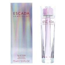 Escada Sentiment Eau de Toilette 75ml Spray Women's - NEW. EDT - For Her