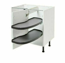 B&Q RIGHT HANDED KITCHEN PULL OUT CORNER UNIT - PEBRE - FITS 1000MM BASE UNIT A