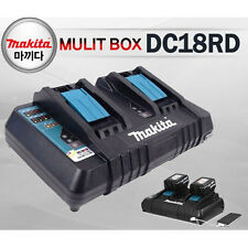 Makita Charger DC18RD Li-Ion Rapid 7.2V-18V Lithium 2-Port USB-Port 220V