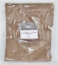 Restoration Hardware Garment Dyed Sateen Lumbar Sham Sable Brown 600 TC New