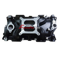 Small Block SBC for Chevy 350 383 High Rise Intake Manifold Dual Plane Aluminum