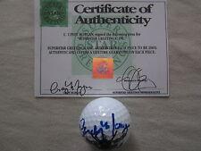 Cindy Morgan autographed signed auto Caddyshack Bushwood CC logo golf ball (SSG)