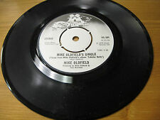 """UK VS101 7"""" 45 Rpm 1975 MIKE OLDFIELD """"MIKE OLDFIELD's single"""" ex"""