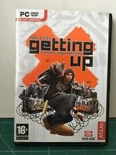 MARC ECKO´S GETTING UP CONTENTS UNDER PRESSURE PC EDICIÓN ESPAÑOLA VER FOTO