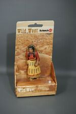 Schleich Wild West Sioux Mutter 70307 Native American Mother Baby Papoose RARE