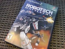 Robotech Battlecry (PlayStation Ps2 Video Game) Complete Tested & Works