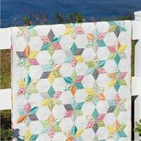 SPRINKLES Moda JAYBIRD SEW & SEW Jelly Roll Friendly QUILT PATTERN Chloe's Close