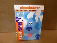 NICKELODEON'S NICK JR BLUE'S CLUES VOL 2 BIG HITS 18 EPISODES DVD W/ SLIPCOVER