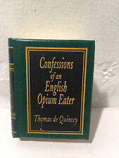 Confessions of an English Opium Eater Thomas de Quincey Miniature Classics - VR