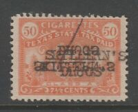 Texas state Revenue Fiscal Stamp 7-20b- with gum