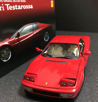 Kyosho Ferrari Testarossa 1:18 Scale Original Die-Cast Model Red Japan Exc+ Rare
