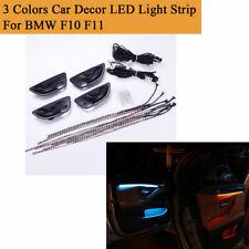 3 Farben Auto Interieur LED Ambient Atmosphere Light Strip für BMW 5er F10 F11