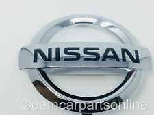 GENUINE 2009-2015 Nissan Maxima Front Grille Emblem Badge Chrome OEM BRAND NEW