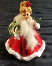 Joseph Originals December Girl | Christmas Girl Figurine