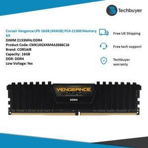 Corsair Vengence LPX 16GB (4X4GB) PC4-21300 Memory 2133MHz DDR4 CMK16GX4M4A2666C