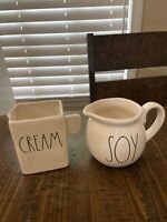 Rae Dunn Artisan Collection By Magenta SOY Cream, Small Pitcher (2)