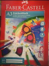 2x Faber-Castell Zeichenblock A3 perforiert FSC-Mix, 20 Blatt