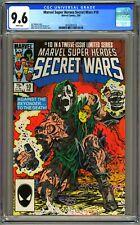 MARVEL SUPER HEROES SECRET WARS #10 CGC 9.6 - WP - NM+ CLASSIC DR DOOM COVER