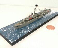 1:700 Scale Built Plastic Model Ship WWII Brittish Royal Navy Destroyer DD