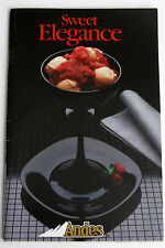 Vintage 1985 Andes Candy Chocolate Mint Recipes Cook Booklet Sweet Elegance Bake