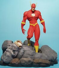 DC Comics Confrontations The FLASH VS GORILLA GRODD Diorama STATUE MIB! Bust TOY