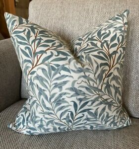 William Morris, Willow Bough Green Cushion/Pillow Cover, 12 inches