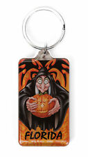 Disney Villains Florida Wicked Witch Lucite Keychain