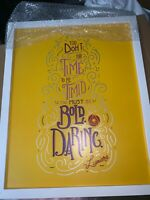Disney Exclusive Wisdom Collection Lumiere June Framed Wall Art Limited Edition