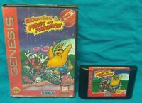 Toejam And Earl Panic On Funkotron CIB Sega Genesis Working Box, Cover Art, Game