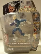 "MARVEL LEGENDS Hasbro 6"" QUICKSILVER blob baf series X-Men action figure 2006"