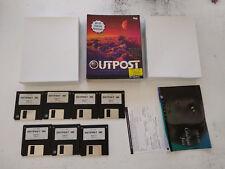 outpost 1 SIERRA 3.5 3 1/2 floppy disk/disquettes PC Big box FR