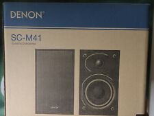 Denon SC-M41 (BKEM) Kompaktlautsprecher ~ 1 Paar ~ OVP ~ RE 23.01.2020