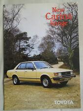 Toyota Carina brochure Aug 1981