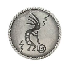 "Kokopelli Concho Antique Nickel 1-1/4"" 7952-21"