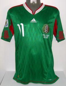 ADIDAS MEXICO WC2010 CARLOS VELA HOME M ORIGINAL JERSEY SHIRT