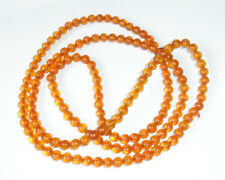 """NECKLACE FROM RUSSIAN BALTIC AMBER USSR 1980 GRADE """"CARAMEL"""", a circle 48"""""""