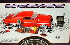 Car Show Complete Accessories Set for 1:24 (G) Scale Diorama Miniature MWB!