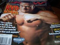 WWE Raw Magazine February 2006 Rob Van Dam