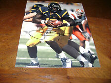 Jarrett Brown West Virginia Mountaineers Signed 8x10 Photo Ncaa Indy Colts Nfl