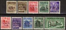 Italy Local Savona 1945 10 overprinted stamps MNH VF