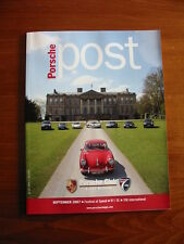 Porsche Post Club GB Magazine, 911 SC, 356, 946, September 2007