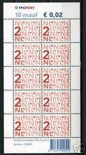 Nederland Nikkels Va2034c, TPG-logo 10 x 2 cent L-fosfor Cat waarde € 6