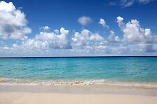 """Caribbean Cancun Mexico Canvas Pictures 16""""X20"""" Ocean Beach Sea Wall Art Prints"""