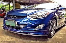 Veloster Universal Front Bumper Rubber Chin Lip Spoiler Splitter Fits: Hyundai's