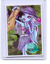 Mattel Genuine Monster High Goth Doll Skull Shores Abbey Bominable Trading Card