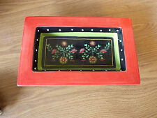 Collectable Retro Annabellas GDN Rectangular Hand Painted Dish