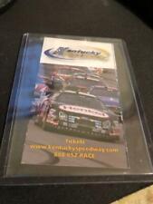 Kentucky Speedway Auto Racing Pocket Schedule NASCAR